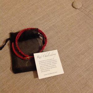 NEW LULU DHARMA gemstone leather wrap Bracelet